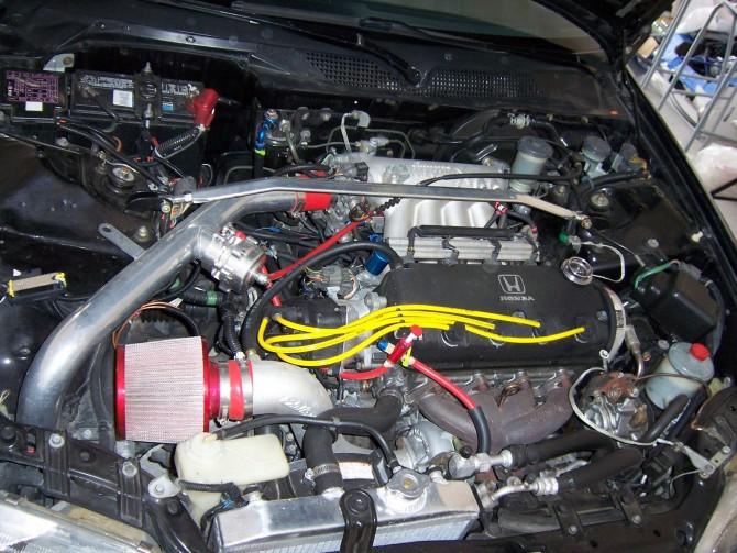 Turbocharged Civic