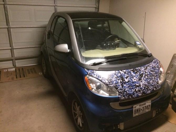 2009 smart car with Honda engine
